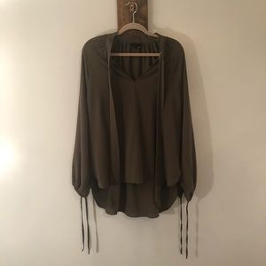 Long sleeve tunic by Jeans by Buffalo size L